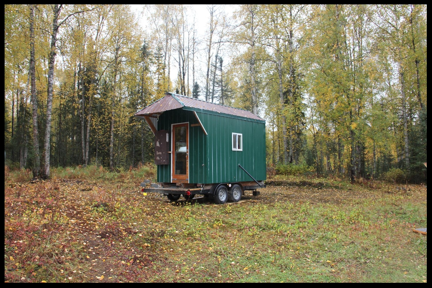 Looking for lodging in Talkeetna, Alaska or interested in a Talkeetna farmstay? Those interested in talkeetna cabins will likely enjoy our permaculture farm's tiny house
